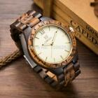 Men Wood Watches Fashion Casual  Luxury Relogio Feminino Relojes Christmas Gifts image