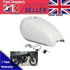 Motorcycle 9L 2.4 Gallon Cafe Racer Fuel Gas Tank Cap For Suzuki GN125 GN250