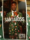 New With Tags OPPO High Quality Ugly Christmas 3 Piece Suit Jacket Pants Tie