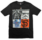 MLB Youth San Francisco Star Wars Main Character T-Shirt, Black $14.99 USD on eBay