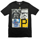 MLB Youth Pittsburgh Pirates Star Wars Main Character T-Shirt, Black on Ebay
