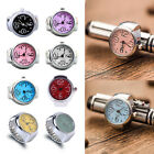 Colorful Unisex Quartz Finger Ring Watch Round Dial Ring Watches Jewelery Gift image