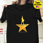 Hamilton Shirt American Musical Broadway T Shirt Black Size S-3XL