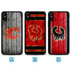 Calgary Flames Case For iPhone X Xs Max Xr 8 7 Plus Galaxy S9 S8 S7 $3.99 USD on eBay