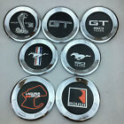 "5.9"" Rear Trunk Lid Emblem Badge Cap Ford Anniversary Logo Chrome for Mustang"