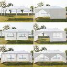 10'X 20' canopy outdoor garden gazebo wedding party tent pavilion W/Wall Upgrade