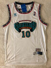 Mike Bibby 10 Hardwood Vintage Throwback Jersey Vancouver Grizzlies White Mens