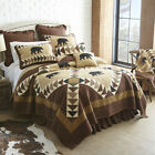 Quilted Bedding Collection, Woodcut Bear image