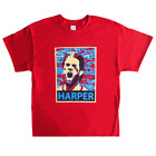 Philadelphia Phillies Bryce Harper Abstract Face T-Shirt Sizes S,M,L,XL (RED) on Ebay