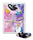Adventure Time galaxy Fleece Blanket