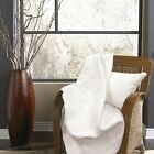 Ana Cotton Quilted Throw/Blankets - Various Solid Colors image