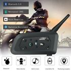 VNETPHONE V6 Intercom 850mAh Helmet 1200M Bluetooth Headset Motorcycle Headphone
