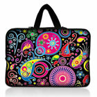 """Printed Laptop Notebook Sleeve Case Bag Pouch for 10-17"""" HP Dell MSI  Macbook"""