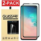 2-Pack For Samsung Galaxy S10 Plus / S10 / S10e Tempered Glass Screen Protector