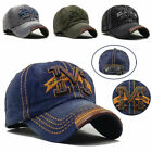 New Baseball Cap Sport Gothic Letter M Adjustable Mens Womens Golf Hat