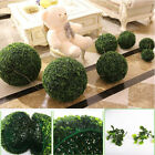 ONE ARTIFICIAL GRASS BALL INDOOR OUTDOOR TOPIARY TREE PLANT POOL PATIO DECOR $21.09 USD on eBay