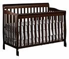 CONVERTIBLE LIFETIME CRIB 5 IN 1 MATURES WITH YOUR CHILD DREAM ON ME PICK COLOR