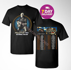 New Peter Frampton Farewell Tour 2019 with dates 2 Side Black T-Shirt Size S-3XL image
