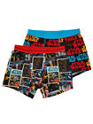 Star Wars Mens 2-Pack Comic Panel Chewbacca X-Wing Underwear Boxer Briefs $26.99 USD on eBay