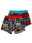 Star Wars Mens 2-Pack Comic Panel Chewbacca X-Wing Underwear Boxer Briefs
