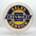 CHEVROLET SALES AND SERVICE Gas Pump Globe - SHIPS ASSEMBLED - MADE IN THE USA!!