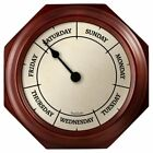 Classic Day 9.25 Inch Wall Clock