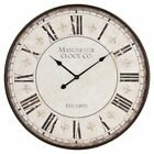 Aspire Home Accents Valerie Large Round 30 in. Wall Clock