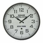 Three Hands Grand Central Station Face Wall Clock