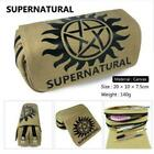 Supernatural SPN Evil Men Women Wallet Canvas Pencil Bags