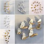 12pcs 3d Butterfly Wall Stickers Art Decals Home Any Room Decoration Kids Diy