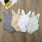 Newborn Baby Boy Girl Romper Bodysuit Sunsuit Summer Outfit Set Clothes US