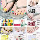 Summer Toe Nail Art Stickers Wraps Self-adhesive DIY Manicure Decal Decorations $0.82 USD on eBay