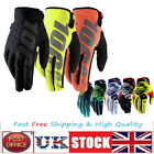 100% Cycling Bicycle Motocycle Riding Racing Sport Outdoor Full Finger Gloves