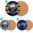 Buffalo Sabres Wood Coaster Cup Drink Mat Pad Placemat Tea $3.49 USD on eBay