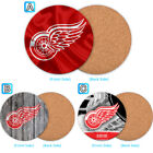 Detroit Red Wings Wood Coaster Cup Drink Mat Pad Placemat Tea $3.49 USD on eBay