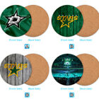 Dallas Stars Wood Coaster Cup Drink Mat Pad Placemat Tea $3.99 USD on eBay