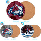 Colorado Avalanche Wood Coaster Cup Drink Mat Pad Placemat Tea $3.49 USD on eBay