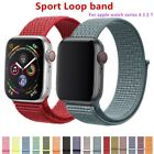 Replacement Sport loop Strap Nylon Band For Apple Watch Series 4/3/2/1 38mm 42mm