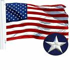 G128 - American USA US Flag 4x6 ft Embroidered Stars Sewn Stripes Brass Grommets