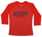 Majestic MLB Youth St. Louis Cardinals Baseball Academy 3/4 Sleeve Raglan Tee on Ebay