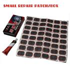 48 Pcs Inner Tube Puncture Repair Kit Car Bike Truck Tire Tyre Patches + Glue