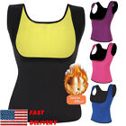 Sweat Sauna Vest Workout Neoprene Waist Trainer Body Shaper Women Slimming US
