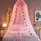 Bed Canopy Curtains Mosquito Net Stars for Girls Boys Adults House Bedroom Decor image