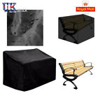 2/3/4 Seater Bench Cover Chair Waterproof Garden Patio Furniture Protector Uk