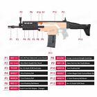 Worker4Nerf FN Scar Imitation Mod Kit for Nerf Stryfe & Worker Swordfish Blaster