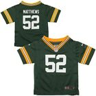 Nike Clay Matthews Green Bay Packers Toddler Jersey TC on eBay