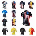 2019 Summer Men's Cycling Jersey Bicycle Short Sleeve T- Shirt Bike Clothing Tops