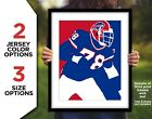BRUCE SMITH Buffalo Bills Photo Art in 8x10 or 11x14 - Football Picture Print $6.95 USD on eBay