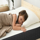 Cooling Shredded Gel Memory Foam Bed Pillow Removable Rayon Cotton Pillow Case image