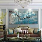 Large Wall Art for Living Room Hand-Painted Framed Floral Oil Painting Artwork